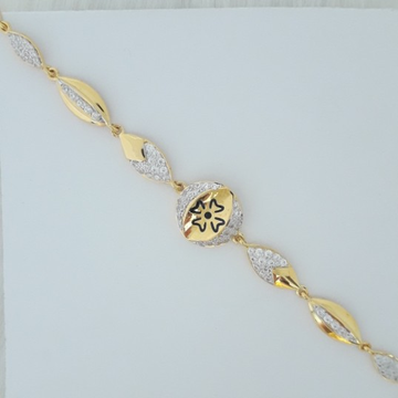 916 gold fancy carving bracelet