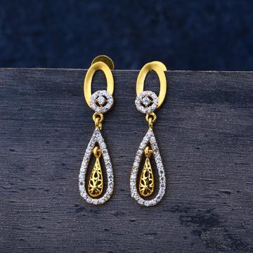 916 Gold Classic Zummar Earrings LJE131