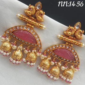 beautiful pink Earrings#687