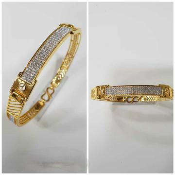 22k Fancy Mercedes Gents  Bracelet G-3423
