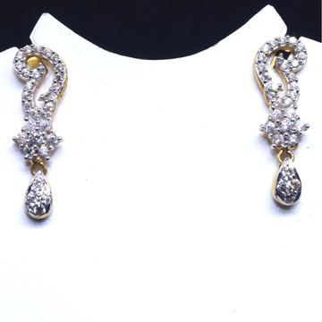 22KT / 916 Gold CZ Diamond Earring For Ladies BTG0059