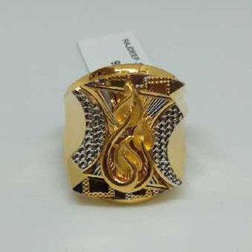 916 Gold Fancy Ring