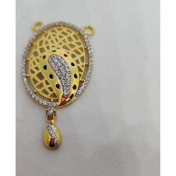 916 Ladies Fancy Gold M S Pendant M-32002