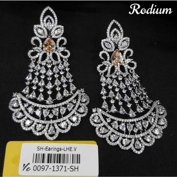 Designer diamond earrings#1013