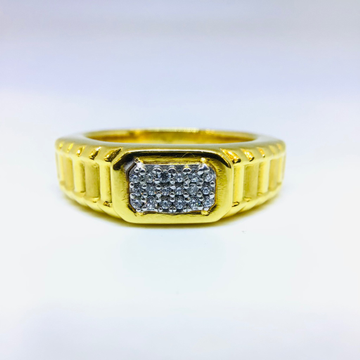 DESIGNED FANCY GOLD RING by