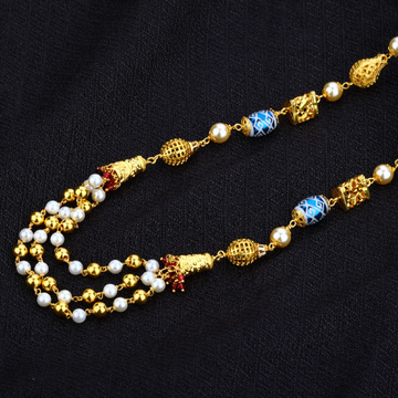 Gold 916 Antique Ladies Mala-AC13
