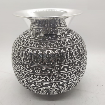 925 Pure Silver Kalash In Light Weight And fine wo...