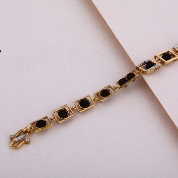 Rose Gold Mens Rudraksha Bracelet-MRB11
