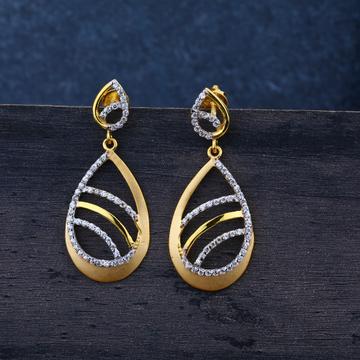ladies jummar earring modern 916-LJE42