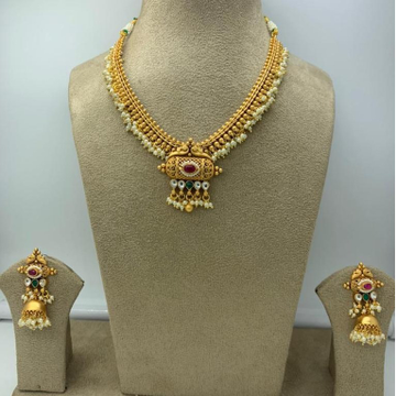 Artificial Necklace Set For Bridal by