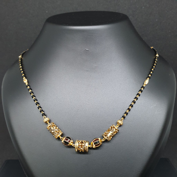 Antique mangalsutra 22k 916 ms/4/75
