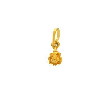 Delicate Gold Ganesha Pendant