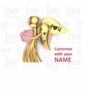 916 Attractive Gold Ladies Pendant
