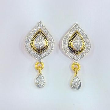 22K GOLD DIAMOND EARRINGS by Shreeji Silver Palace