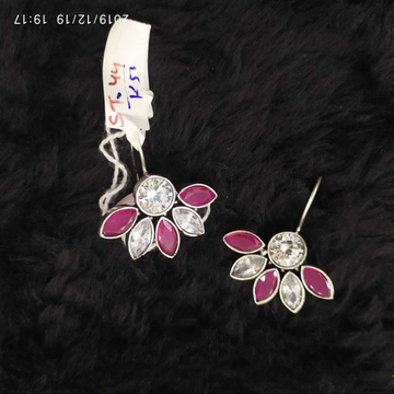 Beautiful Silver Earrings#858