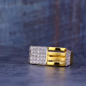 Mens Gold Casting Designer 22K Ring-MR395