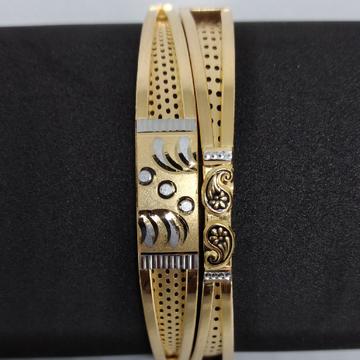 916 gold Fancy copper kadli by V.N. Jewellers