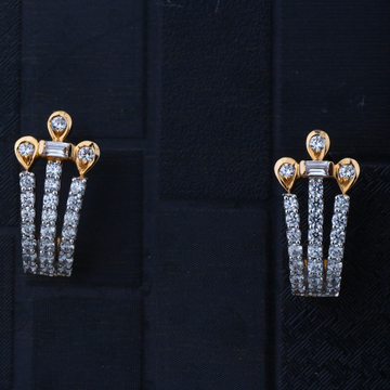 916 Gold Stylish Earring