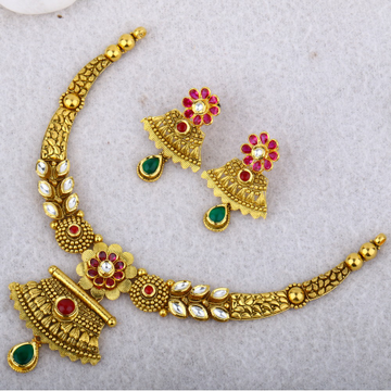 916 Gold Antique Set STG - 0084