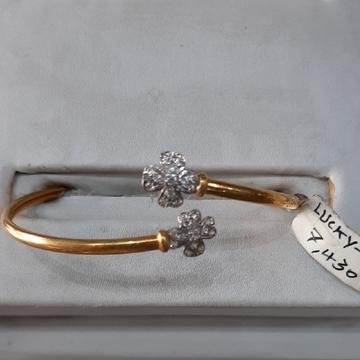 916 Gold hallmark bracelet CJ7616