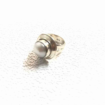 moti (Pearl) ring by Veer Jewels