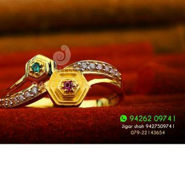 Beuty Shinet Fancy Cz ladies Ring LRG -0249