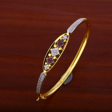 750 Gold color Stone Cz Kada LKB82