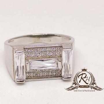 92.5  silver antic daimond gents ring rh-Ge950
