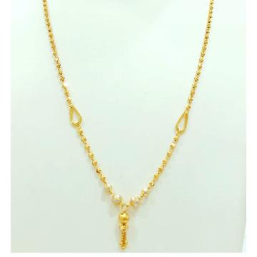 22 carat gold ladies dokiya fancy chain RH-DC713