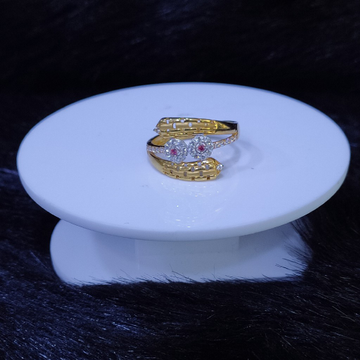 22KT/916 Yellow Gold Arcilla Ring For Women