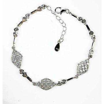 Mansil 925 Silver Ladies Bracelet