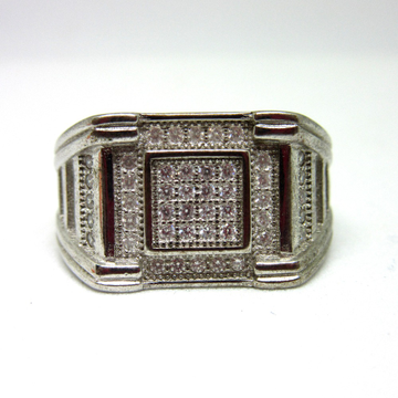 Silver 925 morden ring for gents sr925-111