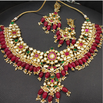 Colorful Artificial Bridal Necklace Set