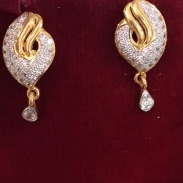 916 hallmarked Earring FC2289