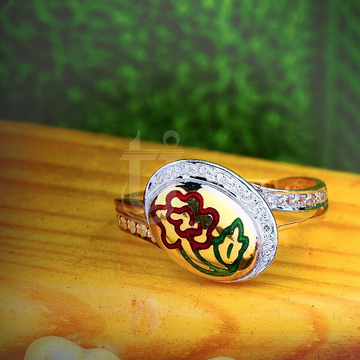 22KT Gold Oval Shape Ladies Ring TJ-R12 by