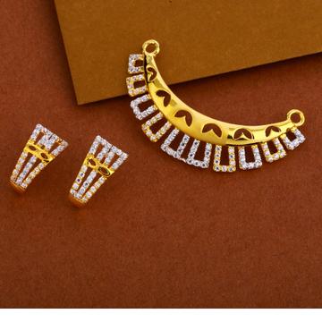 22KT Gold Ladies   Mangalsutra Pendant MP249