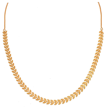 22 kt, 916 Hall-marked, Yellow Gold modern and fancy patterned neckpiece for women JKC005