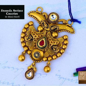 916 Gold Antique Pendant MPG-0141