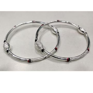 silver ladies bangles RH-LB656