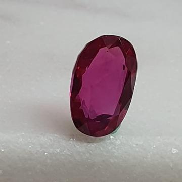 1.47ct Oval Shape Pink Ruby-Manek VG-R28