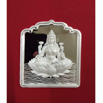 999 Pure Silver Lakshmi Coin in High rise in temple Shape PO-103-01
