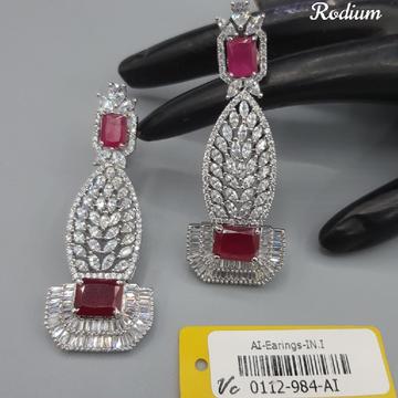 beautiful pink stone Earrings#664