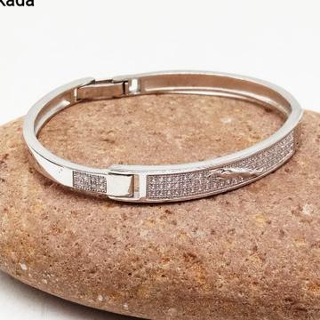 Silver fancy gents bracelet rh-GB854