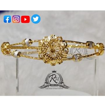2 carat gold designed beautifull ladies kada rh_kd299