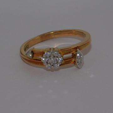 18k gold diamond ring agj-lr-260