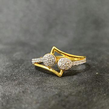22k Ladies fancy Gold Ring-17019