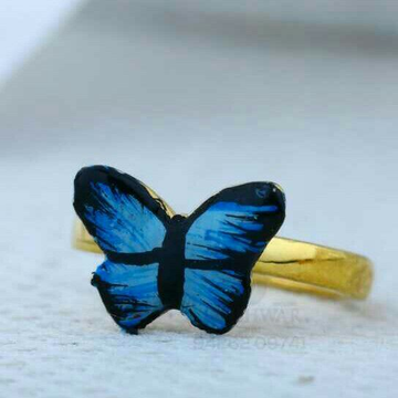 916 Butterfly Shape Baccha Ring