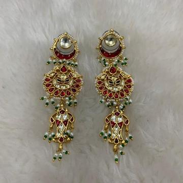 Designer Wedding Wear Earrings by