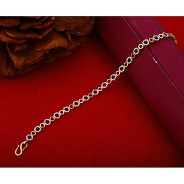18Kt Rose Gold Stylish Bracelet Design RHJ-1217