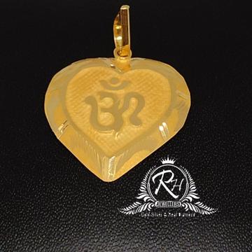 22 Carat gold fancy om pendal RH-PN991
